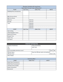 Wedding reception & ceremony planner page 2 preview