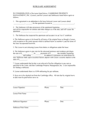 Sublease agreement page 1 preview