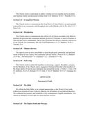 Constitution bylaws of sample baptist church page 2 preview
