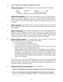 Residential lease agreement page 2 preview