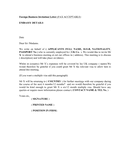 UK employer's business visa letter template page 1 preview