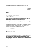 Sample letter complaining to gas company about a high bill (UK) page 1 preview