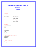 Sample Wedding Reception Itinerary