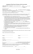 Assignment of real estate purchase and sale agreement page 1 preview