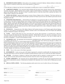 Option to purchase real estate agreement page 2 preview
