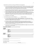 Horse riding & lease agreement page 2 preview