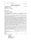 Horse agistment agreement template page 1 preview