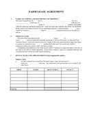 Farm lease agreement sample page 1 preview