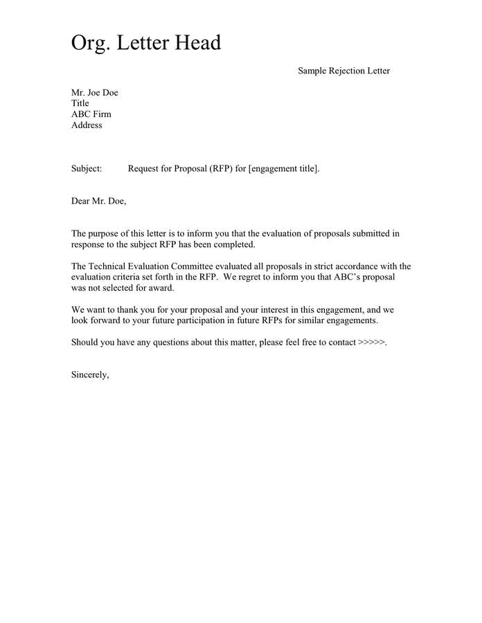Sample Letter Of Regret from static.dexform.com