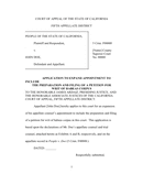 Motion to expand appointment/habeas (California) page 1 preview