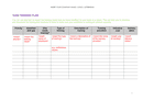 Team training plan template page 1 preview