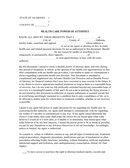 Health care power of attorney (Alabama) page 1 preview