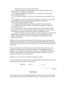Health care power of attorney (Alabama) page 2 preview