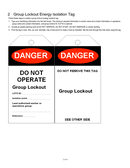 Danger / notice tag templates page 2 preview