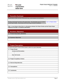 Project scope statement template page 2 preview