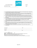 Medical records release form page 2 preview