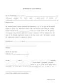 General power of attorney form (Nevada) page 1 preview