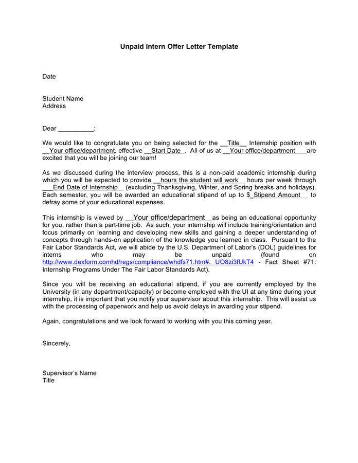Sales Offer Letter Sample from static.dexform.com