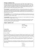 Writing a Complaint Letter page 1 preview