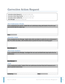 Corrective action request form page 1 preview