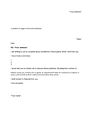 complaint letter template page 1 preview