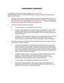 Real estate management agreement page 1 preview