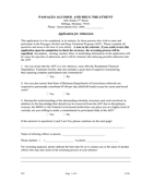 Alcohol and drug treatment facility application form page 1 preview
