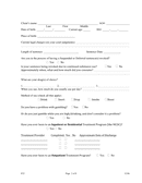 Alcohol and drug treatment facility application form page 2 preview