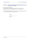 Sample Formal Letters