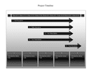 Project timeline template page 1 preview