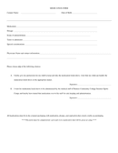 Authorization for Medical Treatment of Minors Form page 2 preview