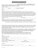 Animal surrender agreement template page 1 preview