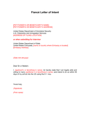 Letter of Intent Template