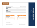 Cash receipt template page 1 preview