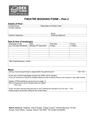 Theatre booking form page 2