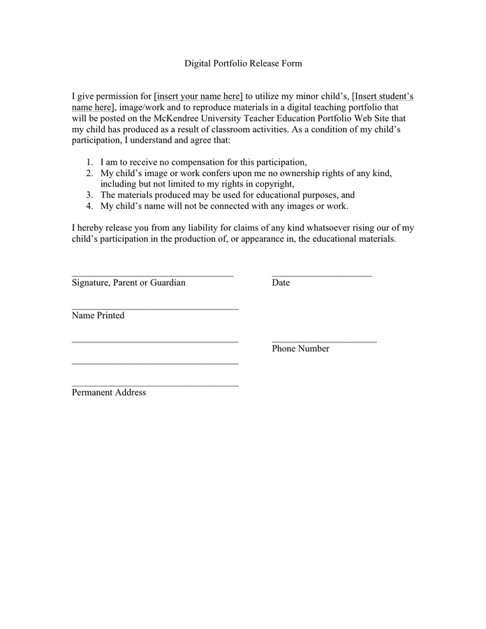 Letter Of Release Form from static.dexform.com