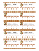 Coffee coupon template page 1 preview
