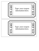 Coupon template page 2 preview