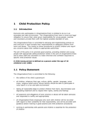 Child protection policy template page 2 preview