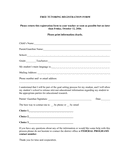 Free tutoring registration form page 2 preview