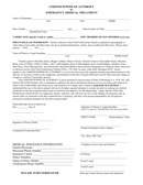 Limited medical power of attorney form page 1 preview