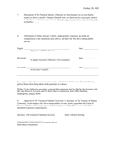 Conflict of interest disclosure statement template page 2 preview