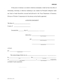 Power of attorney form (Texas) page 2 preview