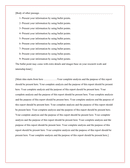 Internship report template page 2 preview