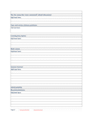 Root cause analysis investigation report template page 2 preview