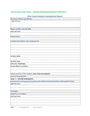 Root cause analysis investigation report template page 1