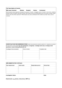 Incident/near miss investigation form template page 2 preview
