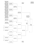 16 team bracket template page 1 preview