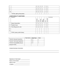 Sample job interview score sheet page 2 preview