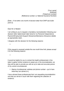 Template mandatory reconsideration letter page 1 preview
